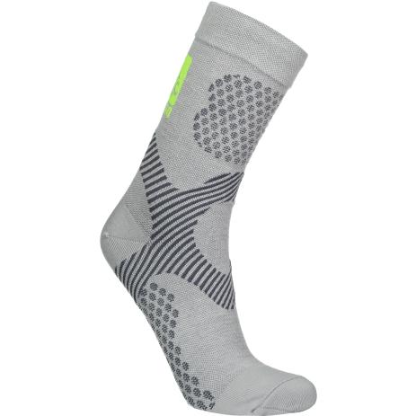 Sportovní ponožky NORDBLANC NBSX16376 SVĚTLE ŠEDÝ MELÍR