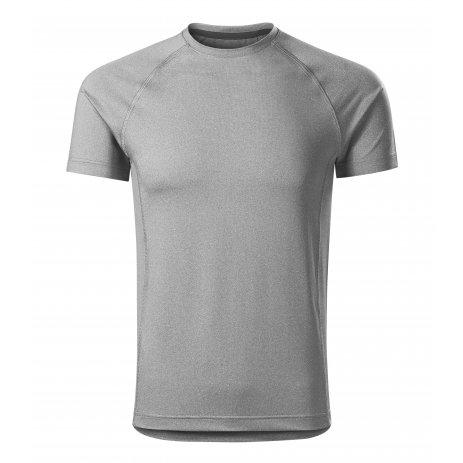 Pánské funkční triko MALFINI DESTINY 175 TMAVĚ ŠEDÝ MELÍR