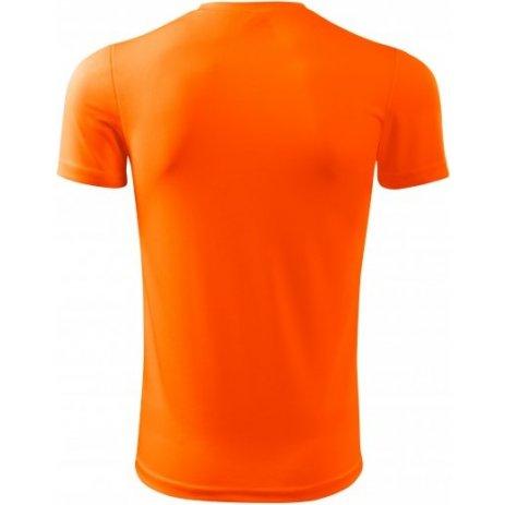Pánské funkční triko MALFINI FANTASY 124 NEON ORANGE