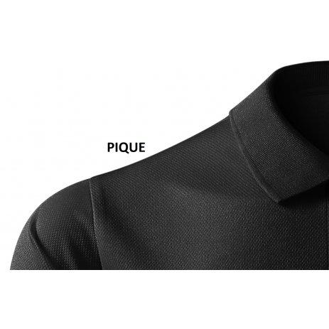 Pánské funkční triko s límečkem MALFINI VICTORY 217 ČERNÁ