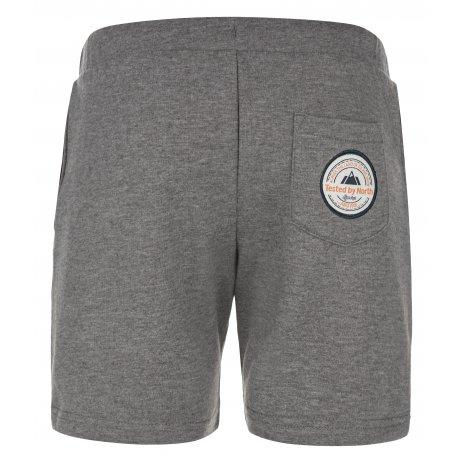 Chlapecké šortky KILPI DAYTON-JB MJ0017KI TMAVĚ ŠEDÁ