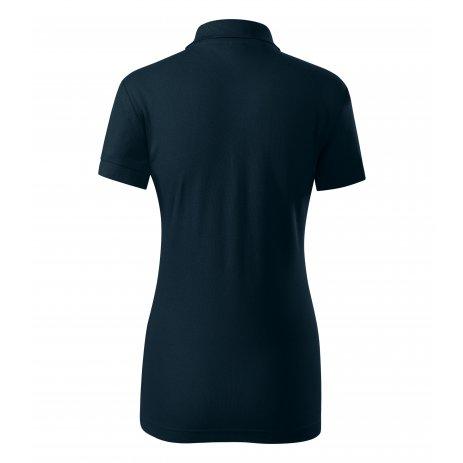 Dámské triko s límečkem PICCOLIO JOY P22 NÁMOŘNÍ MODRÁ