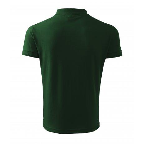 Pánské triko s límečkem MALFINI PIQUE POLO 203 LAHVOVĚ ZELENÁ