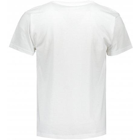 Pánské triko FRUIT OF THE LOOM ORIGINAL V-NECK T WHITE