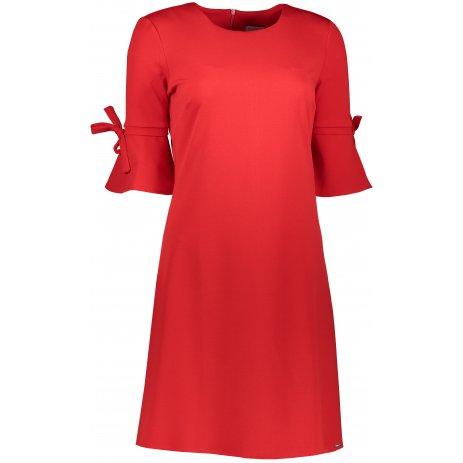 Dámské šaty NUMOCO A217-1 ČERVENÁ