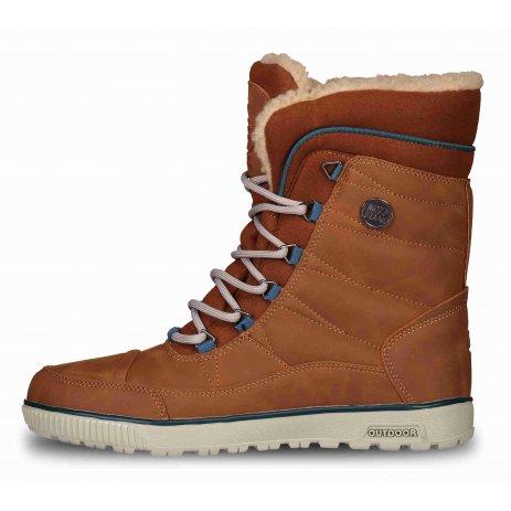 Dámské zimní boty NORDBLANC GRIZZLY NBHC6858 HNĚDÁ