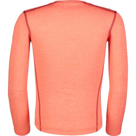 Dětské termo tričko NORDBLANC TWITCH NBBKM7106L ČERVENÝ KORÁL
