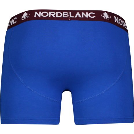 Pánské boxerky NORDBLANC FIERY NBSPM6866 SILNÁ MODRÁ