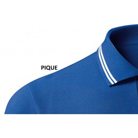 Pánské triko s límečkem MALFINI URBAN 219 KRÁLOVSKÁ MODRÁ