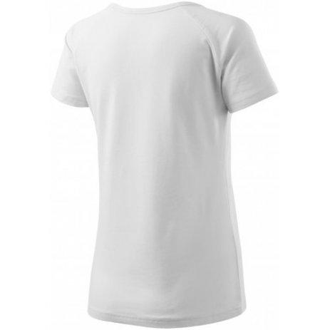 Dámské prodloužené triko MALFINI LOVE 123 BÍLÁ