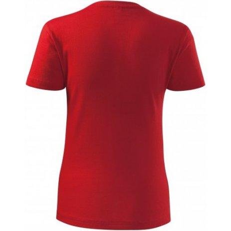Dámské triko MALFINI CLASSIC NEW 133 ČERVENÁ