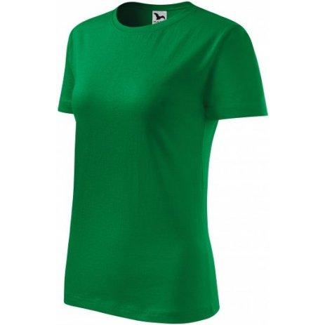 Dámské triko MALFINI CLASSIC NEW 133 STŘEDNĚ ZELENÁ