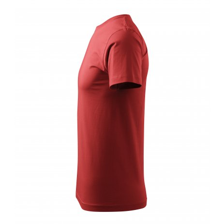 Pánské triko MALFINI HEAVY NEW 137 BORDÓ
