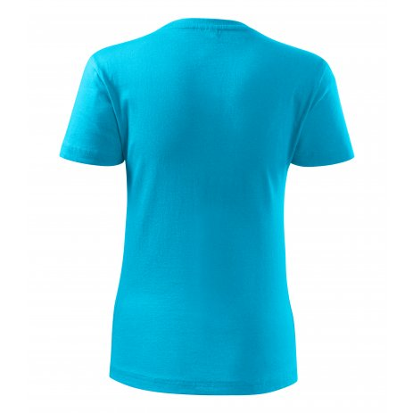 Dámské triko MALFINI CLASSIC NEW 133 TYRKYSOVÁ