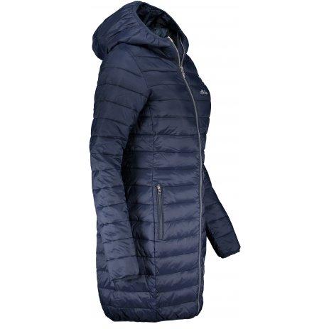Dámský kabát ALTISPORT AGURNA LCTS134 TMAVĚ MODRÁ