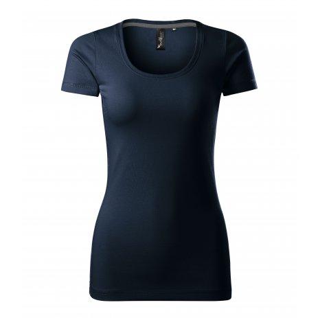 Dámské triko s krátkým rukávem MALFINI PREMIUM ACTION 152 OMBRE BLUE