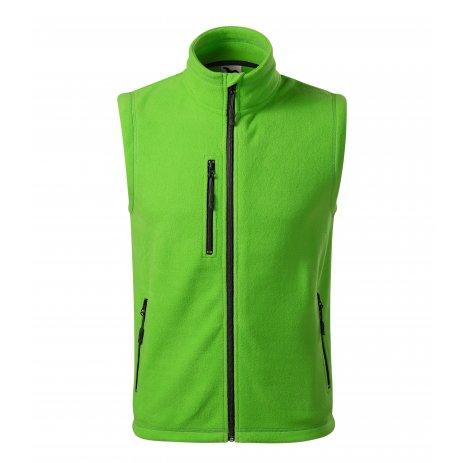 Pánská fleecová vesta MALFINI EXIT 525 APPLE GREEN