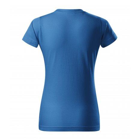 Dámské triko MALFINI BASIC 134 AZUROVĚ MODRÁ
