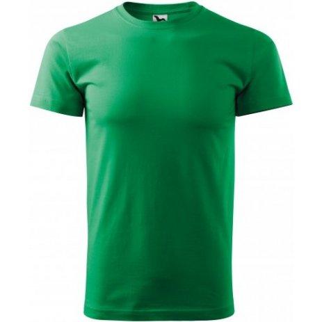 Pánské triko MALFINI HEAVY NEW 137 STŘEDNĚ ZELENÁ