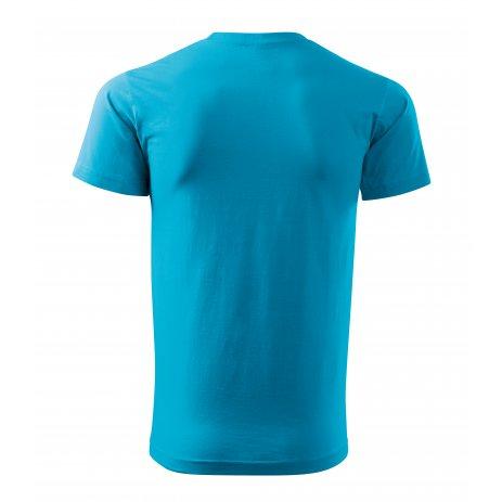 Pánské triko MALFINI BASIC 129 TYRKYSOVÁ