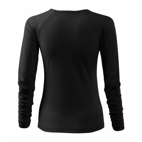 Dámské triko s dlouhým rukávem MALFINI ELEGANCE 127 ČERNÁ