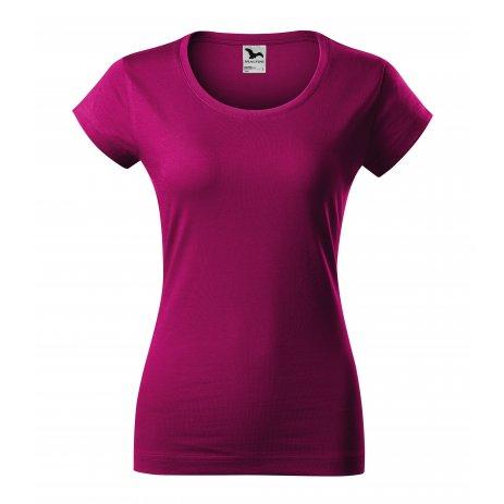 Dámské triko MALFINI VIPER 161 FUCHSIA RED