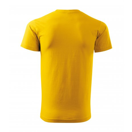 Pánské triko MALFINI HEAVY NEW 137 ŽLUTÁ