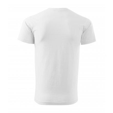 Pánské triko MALFINI BASIC 129 BÍLÁ