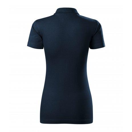 Dámské triko s límečkem MALFINI SINGLE J. 223 NÁMOŘNÍ MODRÁ