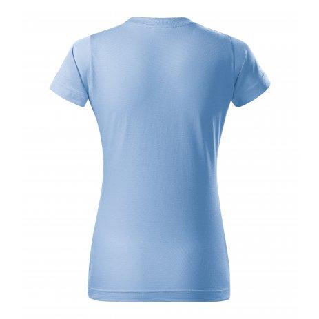 Dámské triko MALFINI BASIC 134 NEBESKY MODRÁ