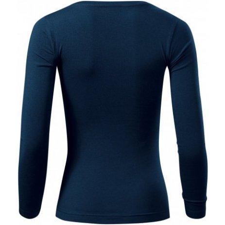 Dámské triko s dlouhým rukávem MALFINI FIT-T LS 169 NÁMOŘNÍ MODRÁ
