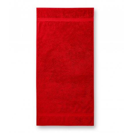 Ručník MALFINI TERRY TOWEL 903 50 x 100 cm ČERVENÁ