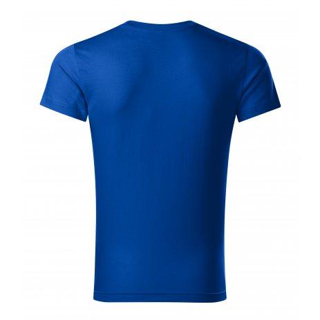 Pánské triko MALFINI SLIM FIT V-NECK 146 KRÁLOVSKÁ MODRÁ