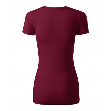 Dámské triko s krátkým rukávem MALFINI PREMIUM ACTION 152 GARNET
