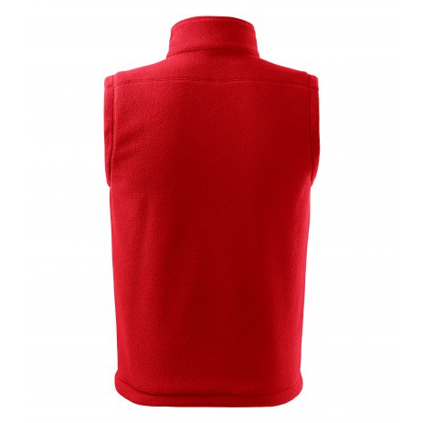 Pánská fleecová vesta RIMECK NEXT 518 ČERVENÁ