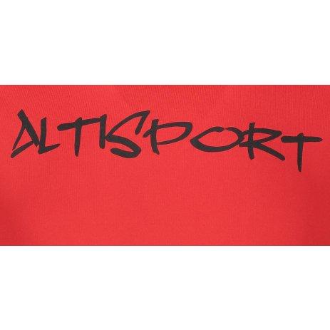 Pánské funkční triko ALTISPORT ALM012175 ČERVENÁ