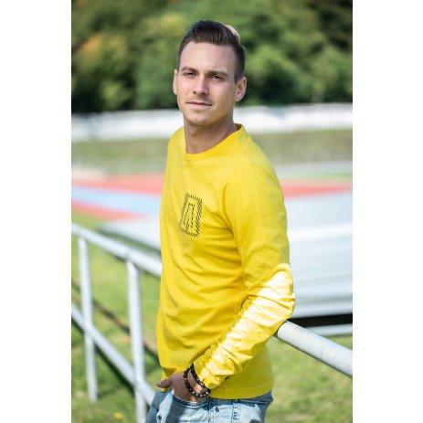 Pánské triko ALTISPORT CESC MTSS566 ŽLUTÁ