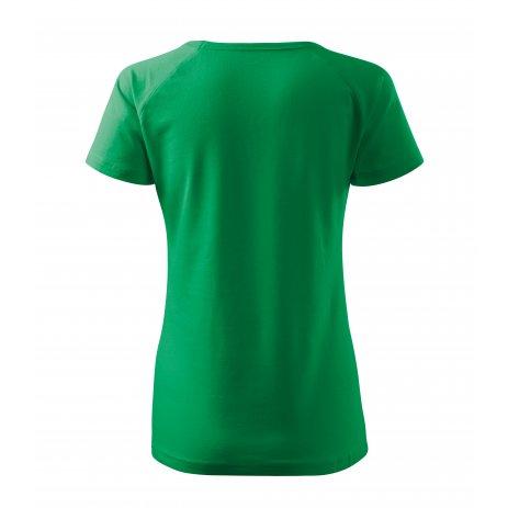 Dámské triko MALFINI DREAM 128 STŘEDNĚ ZELENÁ