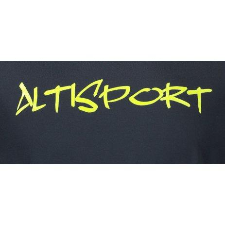 Pánské funkční triko ALTISPORT ALM012175 PETROLEJOVÁ