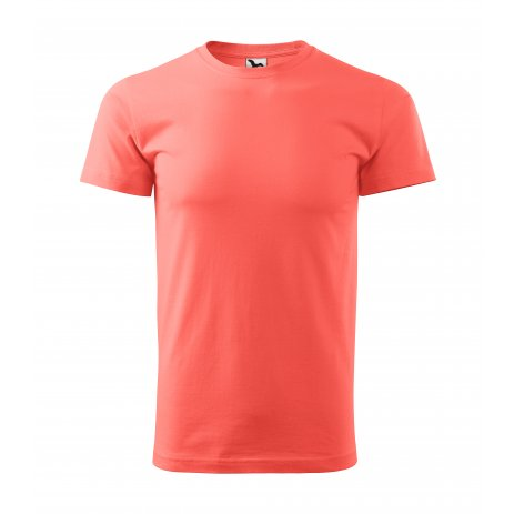 Pánské triko MALFINI BASIC 129 KORÁLOVÁ