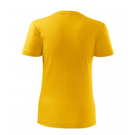 Dámské triko MALFINI CLASSIC NEW 133 ŽLUTÁ