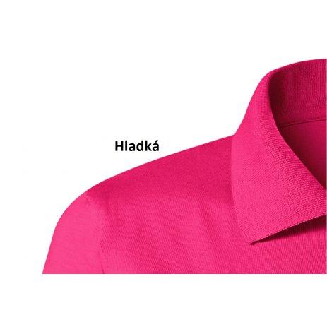 Dámské triko s límečkem MALFINI SINGLE J. 223 PURPUROVÁ