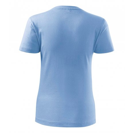 Dámské triko MALFINI CLASSIC NEW 133 NEBESKY MODRÁ