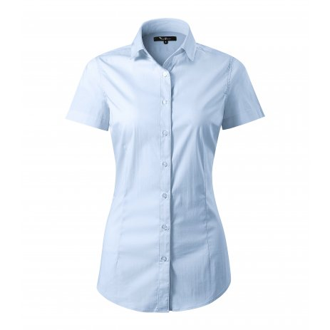 Dámská košile s krátkým rukávem MALFINI PREMIUM FLASH 261 LIGHT BLUE