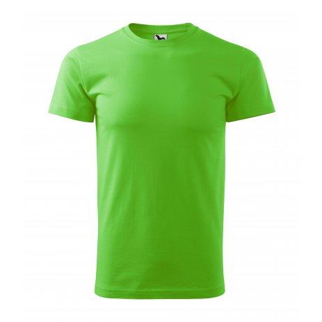 Pánské triko MALFINI BASIC 129 APPLE GREEN