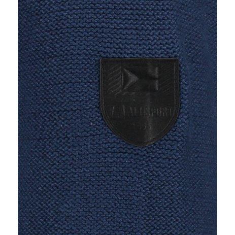 Pánský svetr ALTISPORT BASEK MPLS094 TMAVĚ MODRÁ