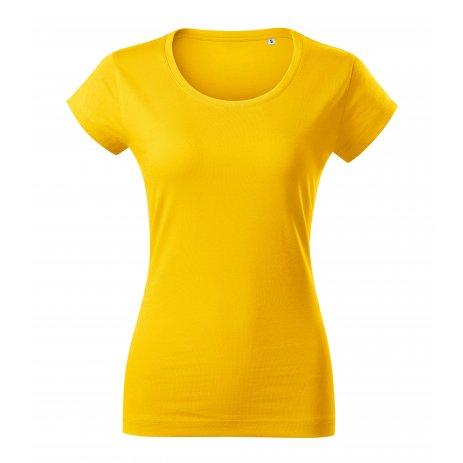Dámské triko MALFINI VIPER FREE F61 ŽLUTÁ