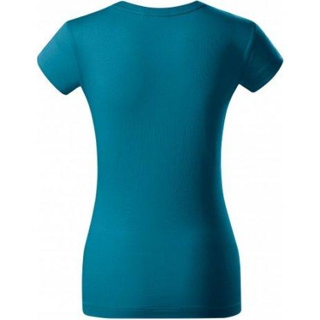 Dámské triko s krátkým rukávem MALFINI PREMIUM EXCLUSIVE 154 PETROLEJOVÁ
