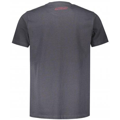 Pánské triko ALTISPORT DYDAC MTSS567 TMAVĚ ŠEDÁ