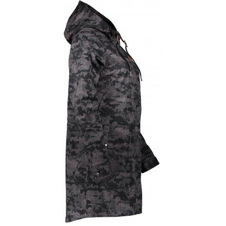 Dámský kabát ALTISPORT SEBLA LCTS142 ČERNÁ